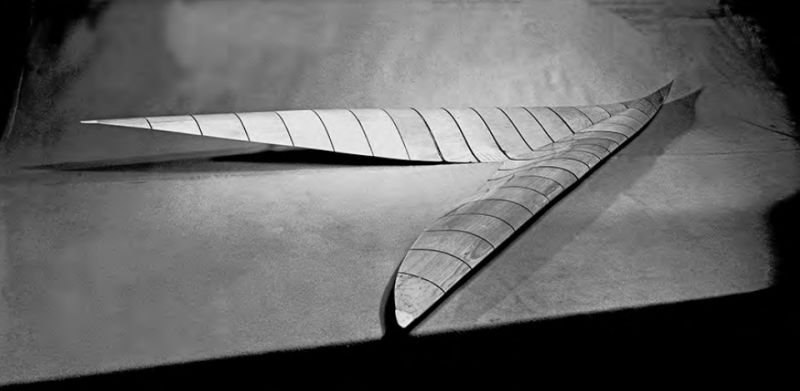 The original supersonic arrow-wing model